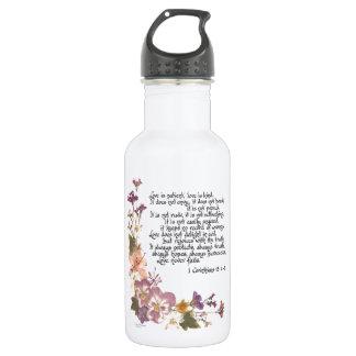 Love is patient 532 ml water bottle