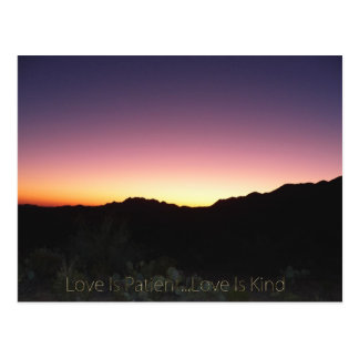 Love Is Patient...Love Is Kind Postcard