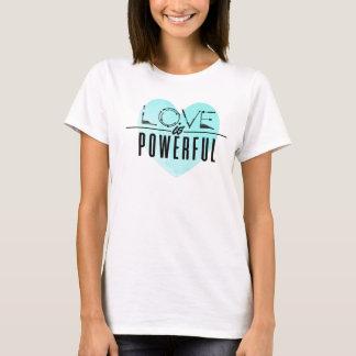 Love is Powerful (Aqua) T-Shirt