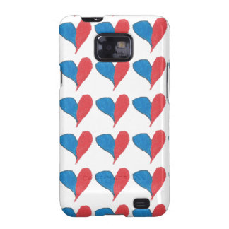 Love is simple and colourful samsung galaxy s2 case