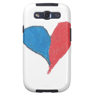 Love is simple and colourful galaxy s3 cases