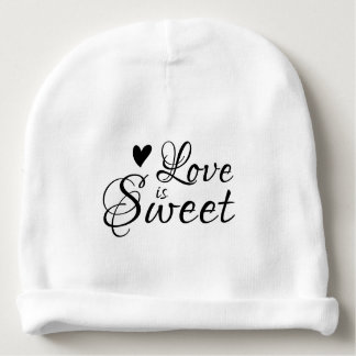 Love is Sweet | Baby Baby Beanie