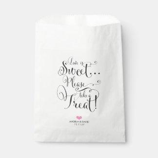 Love is Sweet Favor Bag