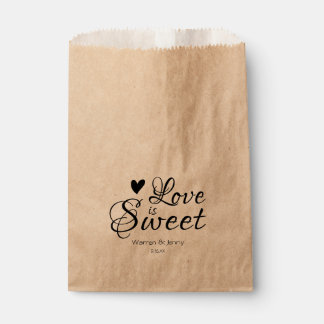 Love is Sweet Favour Bag