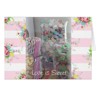 Love is Sweet Greetings Card