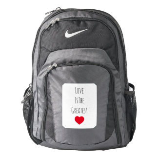 Love is the Greatest Backpack
