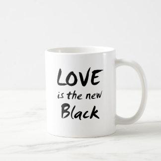 Love is the New Black Classic White Coffee Mug