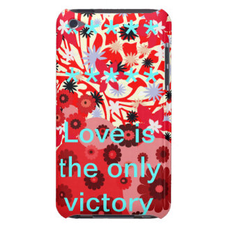 Love is the only victory barely there iPod covers