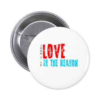 Love is the Reason for the Christmas Season 2 Inch Round Button