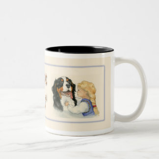 Love is... Two-Tone coffee mug