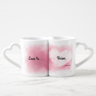 Love is Union Nested Mugs