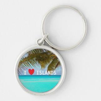 Love Islands Aqua Tropical Keyring