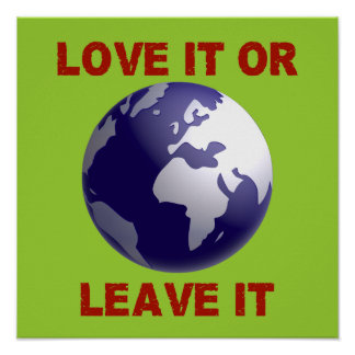 Love It Or Leave It Poster