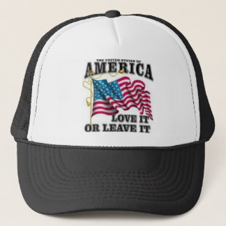 Love it or leave it trucker hat