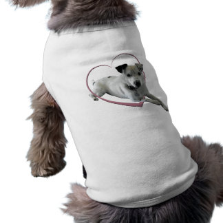 Love Jack Russell Dog Gifts Pet Clothing