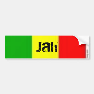 LOVE, Jah Bumper Sticker