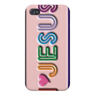 Love Jesus iPhone Case