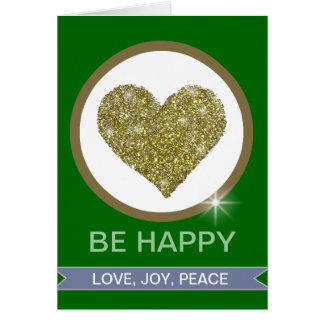 LOVE JOY PEACE CARD