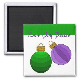 Love Joy Peace - magnet