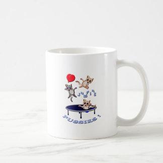 love jumping pussies coffee mug
