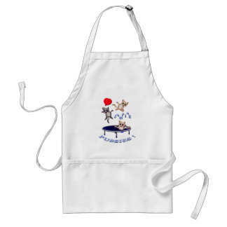 love jumping pussies standard apron