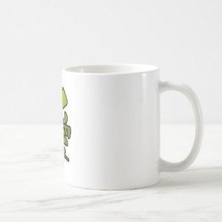 love kanji classic white coffee mug