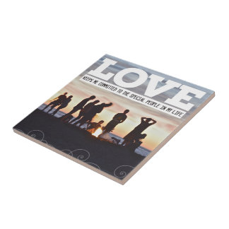Love Keeps Me Committed Tile