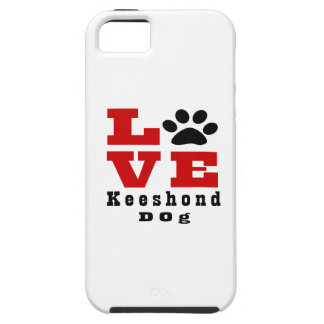 Love Keeshond Dog Designes iPhone 5 Covers