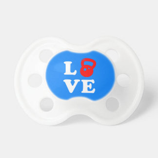 Love Kettlebells Pacifier