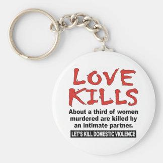 Love Kills Keychain