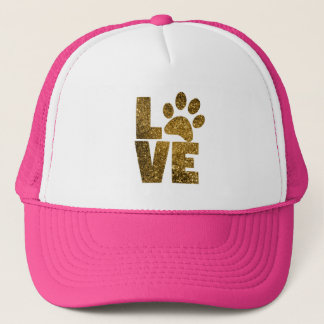 Love Kitty Trucker Hat