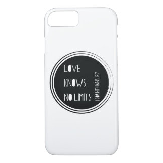 Love Knows No Limits iPhone 7 Case