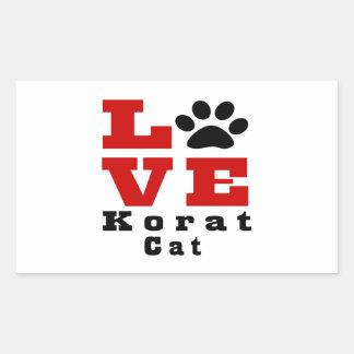 Love Korat Cat Designes