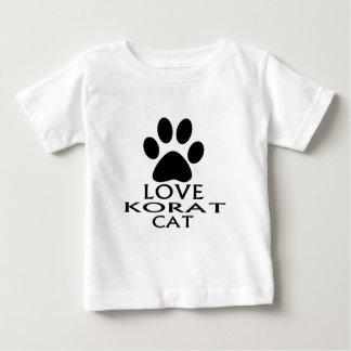 LOVE KORAT CAT DESIGNS BABY T-Shirt