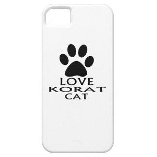 LOVE KORAT CAT DESIGNS iPhone 5 COVERS