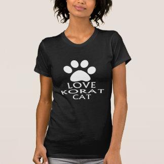 LOVE KORAT CAT DESIGNS T-Shirt