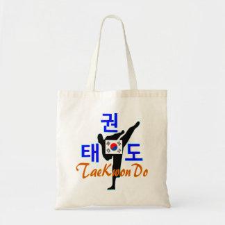 ❤☯✔Love Korean Martial Art-TaeKwonDo Chic Budget Tote Bag