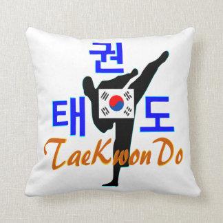 ❤☯✔Love Korean Martial Art-TaeKwonDo Fabulous Throw Pillow