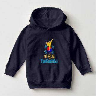 ❤☯✔Love Korean Martial Art-TaeKwonDo Fleece Hoodie