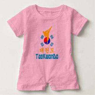 ❤☯✔Love Korean Martial Art-TaeKwonDo Must-Have Baby Romper