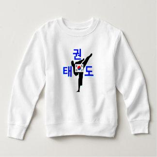 ❤☯✔Love Korean Martial Art-TaeKwonDo Toddler Sweatshirt