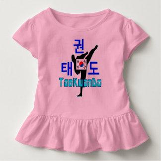 ❤☯✔Love Korean Martial Art-TaeKwonDo Toddler Toddler T-shirt