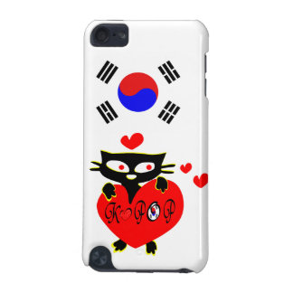 love kpop blck cat vector art i phod touc h  iPod touch (5th generation) cover