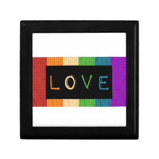 Love Label LBGT Pride and Ally Support Gift Box