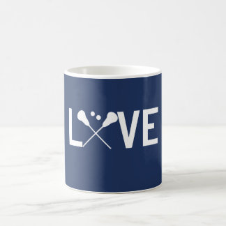 Love Lacrosse Coffee Mug