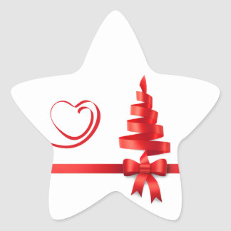 Love L'Amour Christmas 2014 Star Stickers