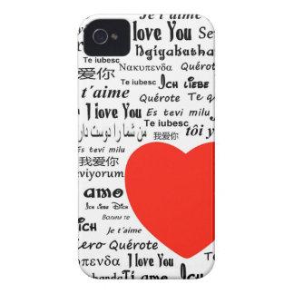 Love language iPhone 4 Case-Mate case