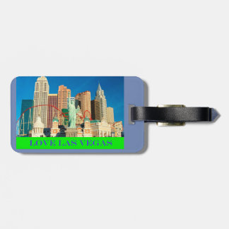 Love Las Vegas Luggage Tag