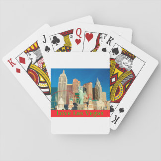 Love Las Vegas Playing Cards