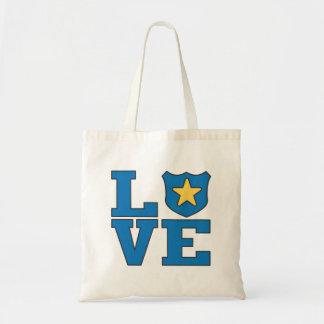 Love Law Enforcement Canvas Bags